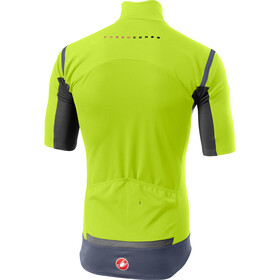 Castelli Gabba RoS Maillot Manches courtes Homme, yellow fluo